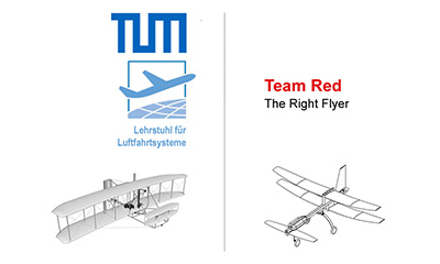 Youtube Video: Team RED - Maidenflight of the Right Flyer
